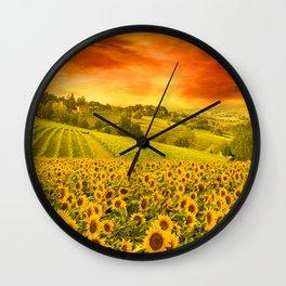 Open Land Wall Clock