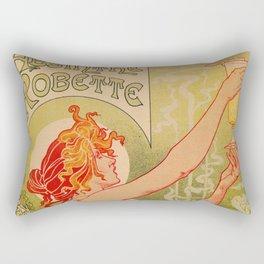 Classic French art nouveau Absinthe Robette Rectangular Pillow