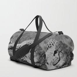 Cheetah fangs Duffle Bag