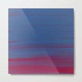 Bluered Acrylic Metal Print