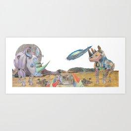 CoR Tyrian Raptor Psychedelic Phoenix Coffee Mug Art Print