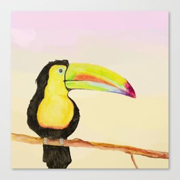 Trudy Toucan Canvas Print