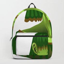 Green Girl Backpack