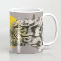 eric fan Mugs featuring Wild 4 - by Eric Fan and Garima Dhawan by Eric Fan