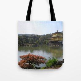 The Golden Pavilion II Tote Bag