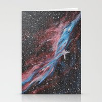 outer space Stationery Cards featuring Outer Space by Studio 502