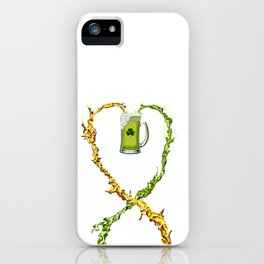 St.Patrick's Day Drunk Mode ON - LIMITED EDITION! iPhone Case