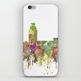 Camden, New Jersey Skyline SG - Faded Glory iPhone Skin