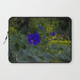 Summer Purple flowers Laptop Sleeve
