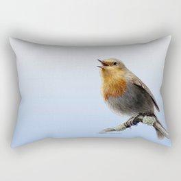 English Robin Rectangular Pillow