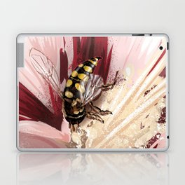 Wasp on flower 7 Laptop & iPad Skin