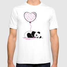 In Love SMALL White Mens Fitted Tee