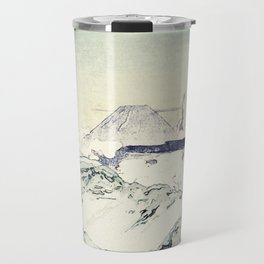 Flight Over Yatsugate Travel Mug