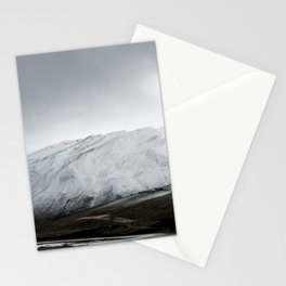 September snow Stationery Cards