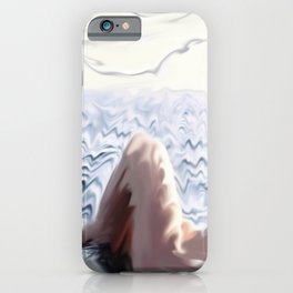 Girl In Water iPhone Case
