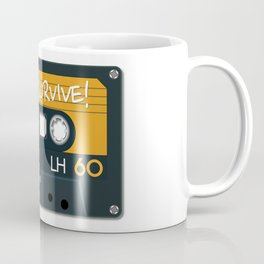 Vintage Audio Tape - BASF - I Will Survive! Coffee Mug