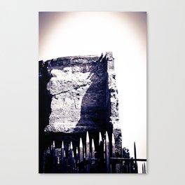 Roman Archaeological remains Canvas Print