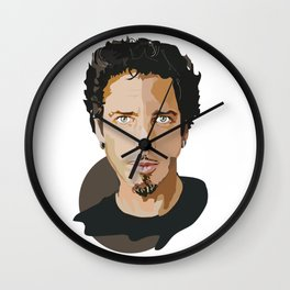 Chris Cornell Wall Clock