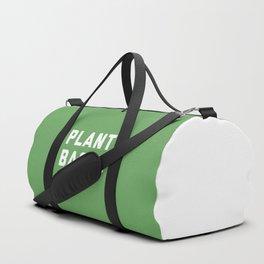 Plant Based Vegan Quote Duffle Bag