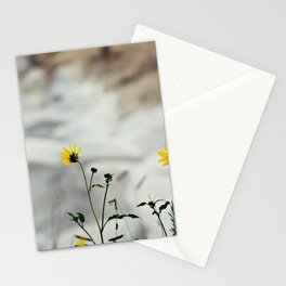 A touch of yellow Stationery Cards