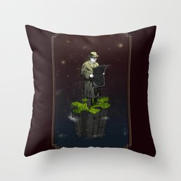 Everyone has a place in the universe Throw Pillow