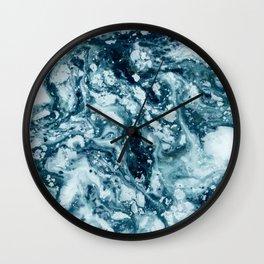 Moon like an ocean Wall Clock