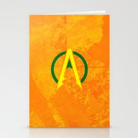 aquaman Stationery Cards featuring Aquaman by Some_Designs