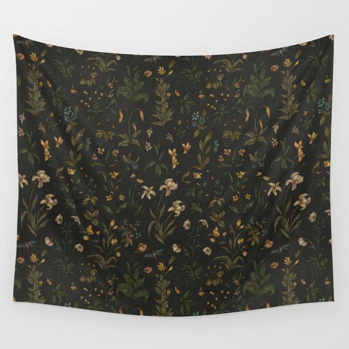 Old World Florals Wandbehang