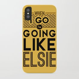 When I Go iPhone Case