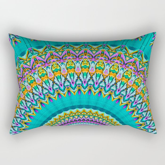 dreaming mandala Rectangular Pillow