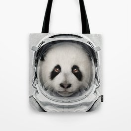 Panda Astro Bear Tote Bag