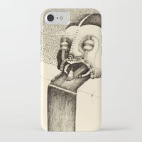 fall iPhone & iPod Cases featuring 'Fall' by Alex G Griffiths