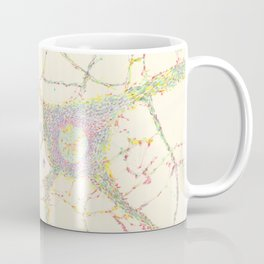 Neuron, brain cell. Coffee Mug