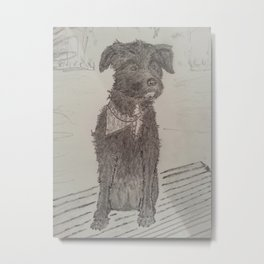Good Girl Metal Print
