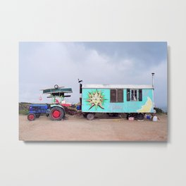 Happy Caravan Metal Print
