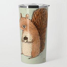 Sarah the Squirrel Travel Mug
