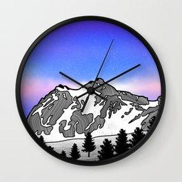 Mount Baker Wall Clock