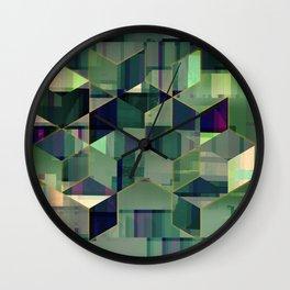 peace of geometry Wall Clock