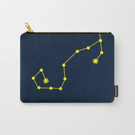 SCORPIO (YELLOW-NAVY BLUE STAR SIGN) Carry-All Pouch