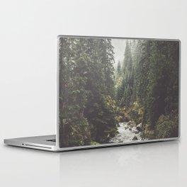 Mountain creek - Landscape and Nature Photography Laptop & iPad Skin