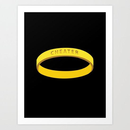 Cheater Art Print