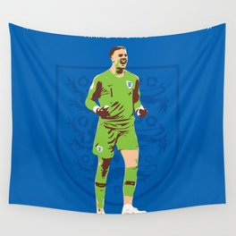 Jordan Pickford - Hand Picked Wall Tapestry