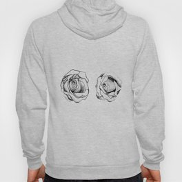 Two Roses for my Friends Hoody