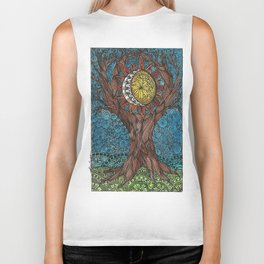 WORLD TREE Biker Tank