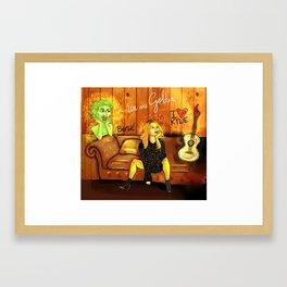 KYLIE MINOGUE GOLDEN Framed Art Print