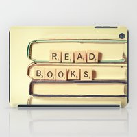 read iPad Cases featuring Read Books by Olivia Joy StClaire