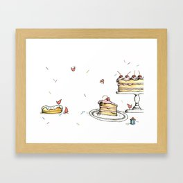 YUM! Framed Art Print