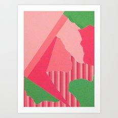 Peeenk Art Print