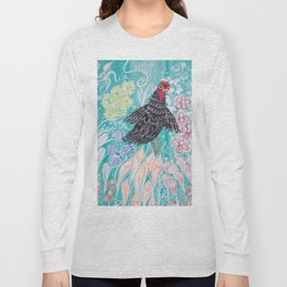 Elmer Finds a Field of Flowers Long Sleeve T-shirt