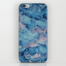 Crashing- Alcohol Ink Painting iPhone Skin